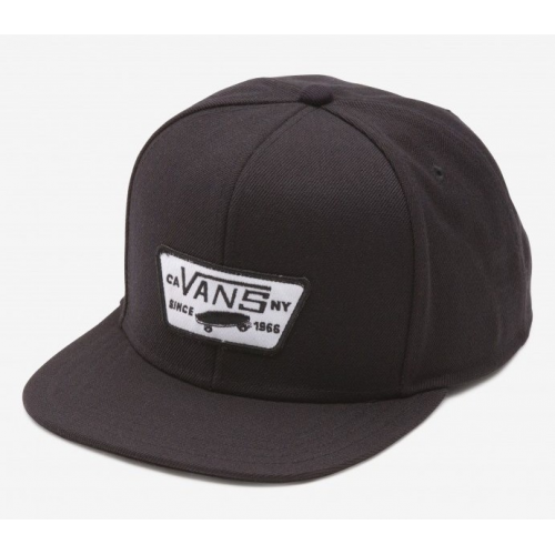 Kšiltovka Vans Full Patch Snapback Boys true black