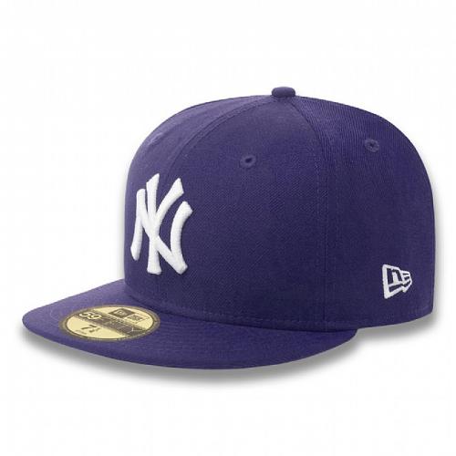 Kšiltovka New Era 5950 Basic NY Yankees purple white  1df1c53186