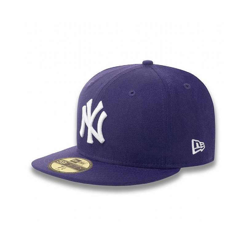 Kšiltovka New Era 5950 Basic NY Yankees purple white  71ca652e4c