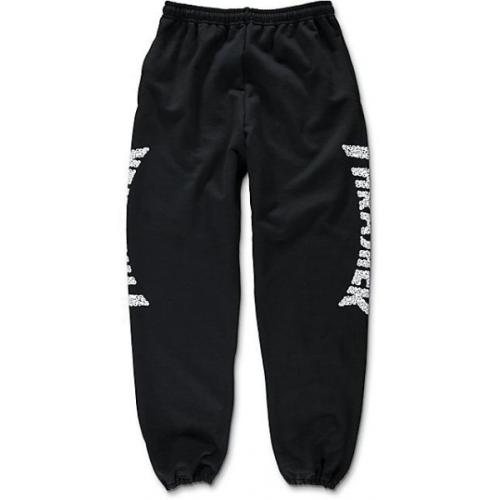 Tepláky Thrasher Skulls Sweatpants black