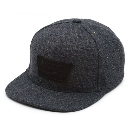 Kšiltovka Vans Full Patch Snapback black heather