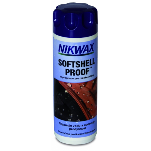 Impregnace Nikwax Softshell Proof 300 ml