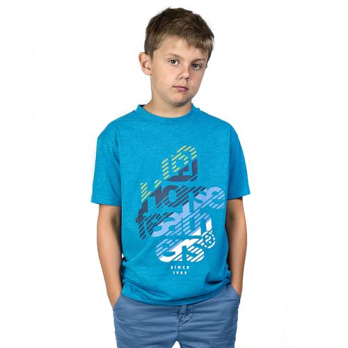 Triko Horsefeathers Stream Kids heather blue