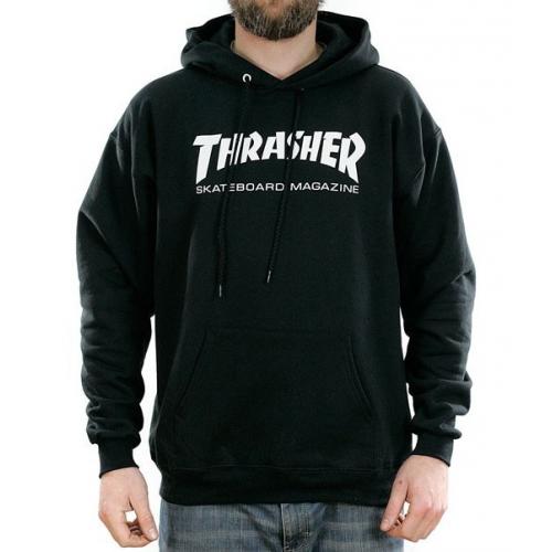 Mikina Thrasher Skate Mag Hood black
