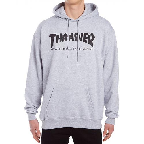 Mikina Thrasher Skate Mag Hood gray