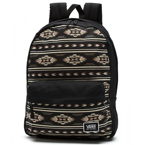 Batoh Vans Realm Classic Backpack black/mahogany rose