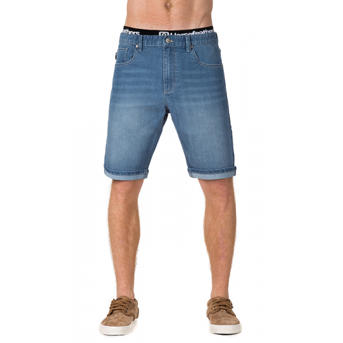 Kraťasy Horsefeathers Flip Denim Shorts light blue