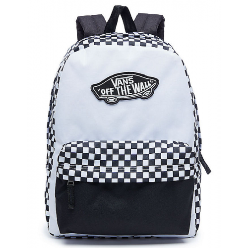 e15b787541 Batoh Vans Realm Backpack black white checkerboard
