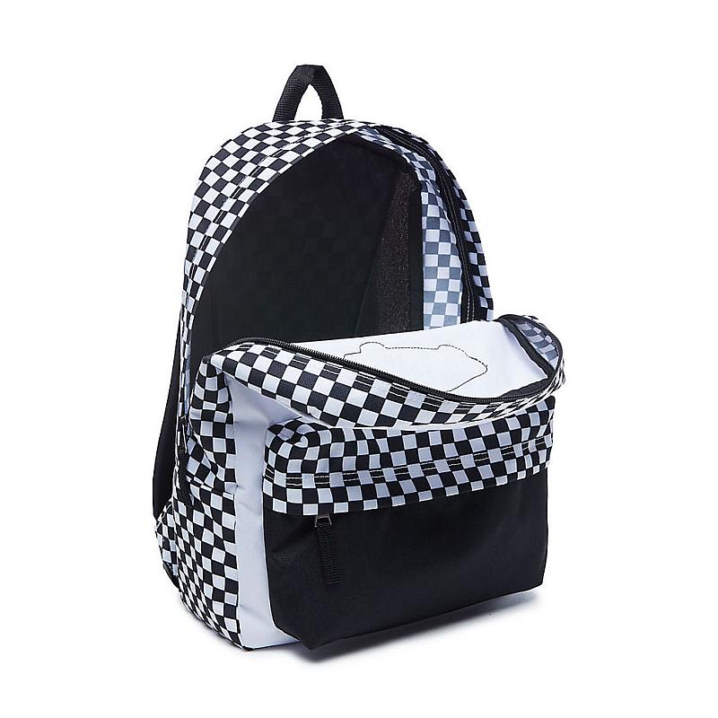 d820db51680 ... Batoh Vans Realm Backpack black white checkerboard. Obrázek Zobrazit  větší. Předchozí. Obrázek  Obrázek (1)  Obrázek (2) ...