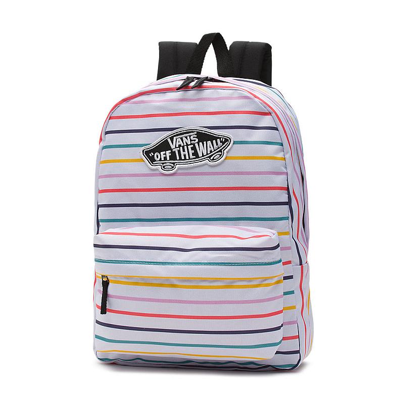 f888f9056e Batoh Vans Realm Backpack party stripe  Obrázek ...
