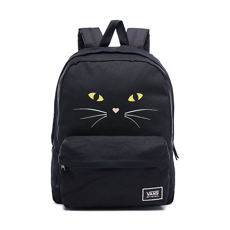 3962a713fa Batoh Vans Realm Classic Backpack black cat  Obrázek ...