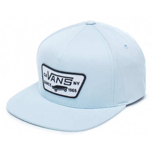 Kšiltovka Vans Full Patch Snapback Boys baby blue