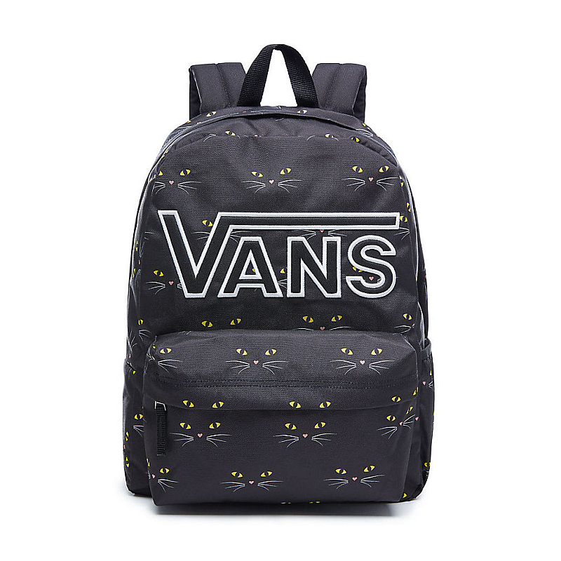 a10840adc4 Batoh Vans Realm Flying V Backpack black cat