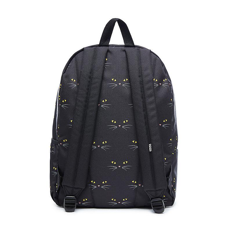 72804cee3d Batoh Vans Realm Flying V Backpack black cat  Obrázek  Obrázek (1) ...
