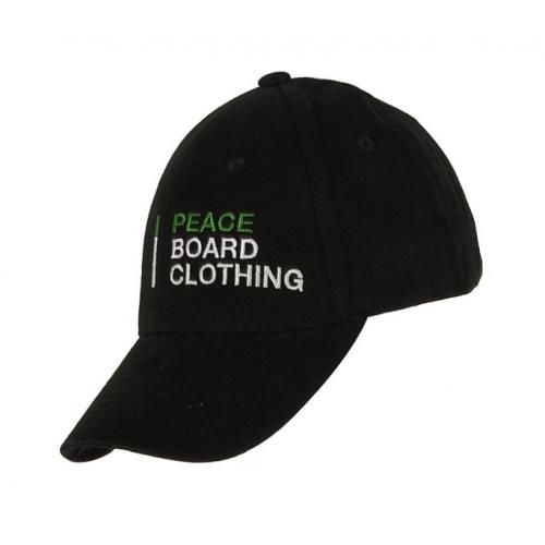 Kšiltovka Peace Simple black