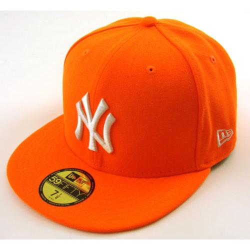 Kšiltovka New Era 5950 Basic NY Yankees hunterflame