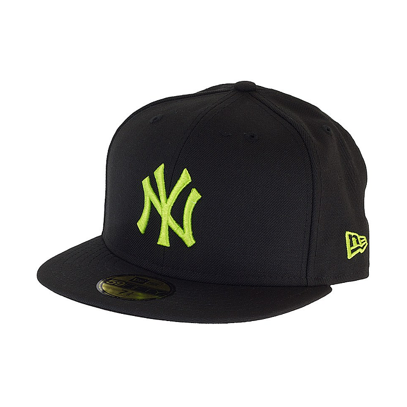 Kšiltovka New Era 5950 Basic NY Yankees black lime  8ccf28735f