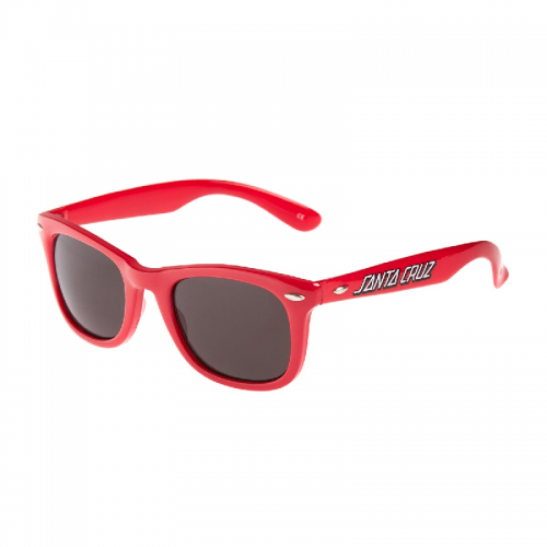 Brýle Santa Cruz Classic Strip red
