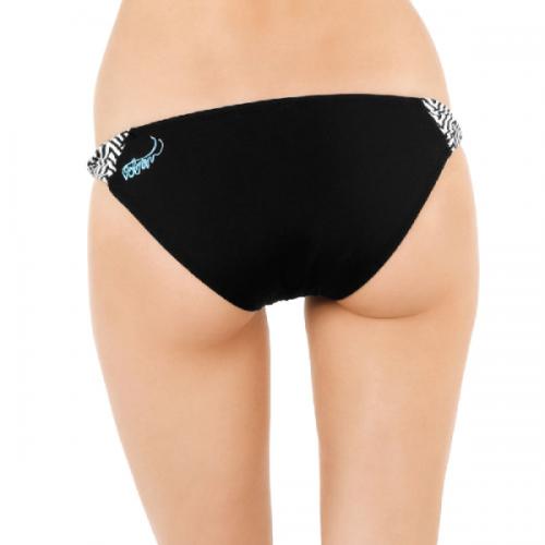 Plavky Volcom Knotty Not Full black
