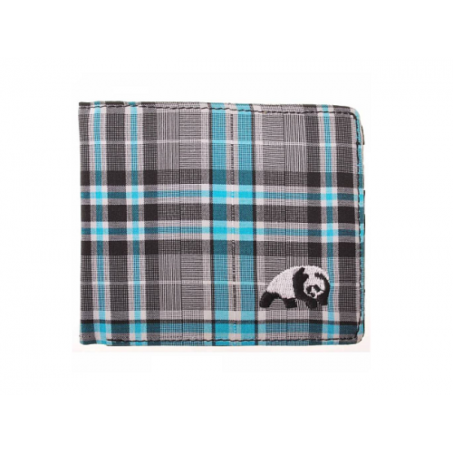 Peněženka Enjoi Plaid Billfold blue