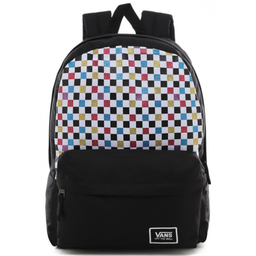 Batoh Vans Glitter Check Realm Backpack glitter check