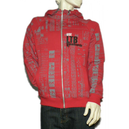 Mikina Salebra LTB Brand Hood red
