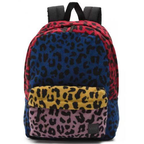 Batoh Vans Deana III Backpack leopard patchwork