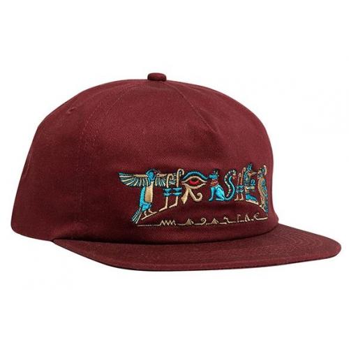Kšiltovka Thrasher Hieroglyphic Snapback maroon