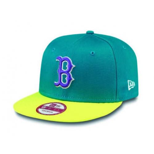 Kšiltovka New Era 950 Tricol Basic Boston Red Sox teal/yellow