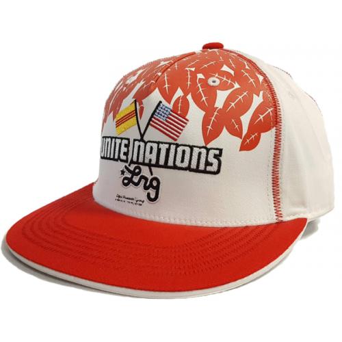 Kšiltovka LRG Unite Nations white/red