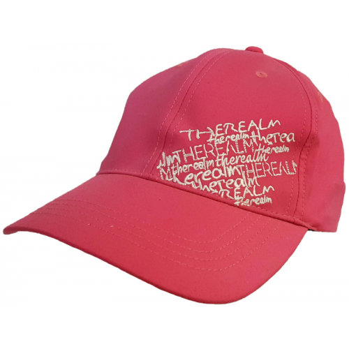 Kšiltovka The Realm Scribble Ladies Cap hotpink