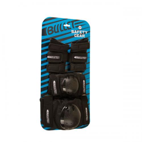 Chrániče Bullet Safety Gear black Jr.